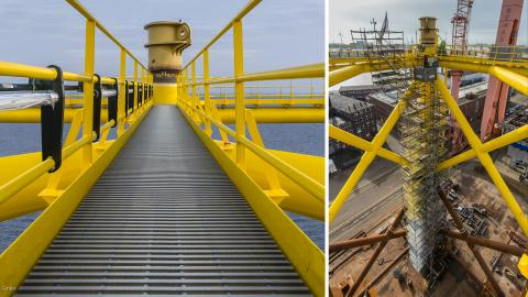CTS Profileroste im Offshore - Einsatz